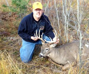 trophy-buck-out-of-hunting-cabin