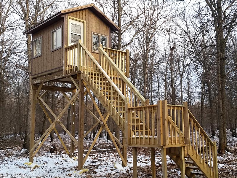 Custom Deer Stands Amp Hunting Cabins Wisconsin Landcrafters