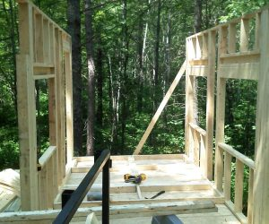 framing-up-a-cabin