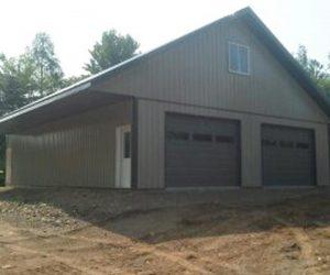over-hang-2-garage-doors-on-shed-custruction