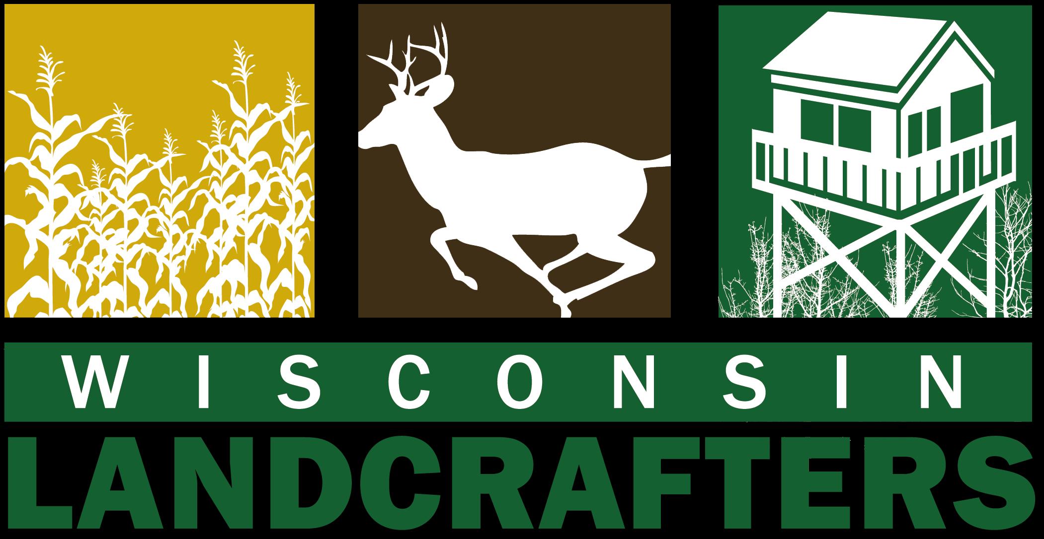 cornfield-deer-cabin-logo-of-wisconsin-landcrafters